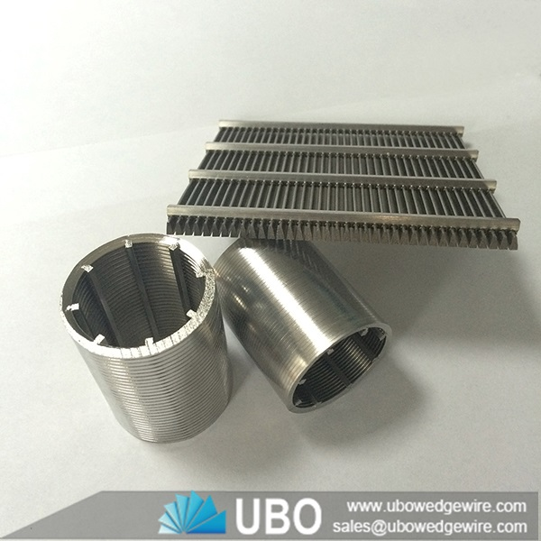 Stainless steel v shaped wire screens johnson
