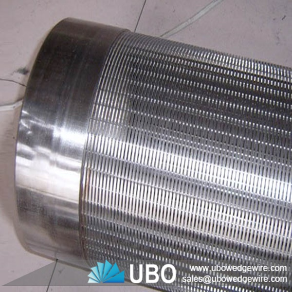Water Well Screens : Stainless steel water slot well screen for filtration v