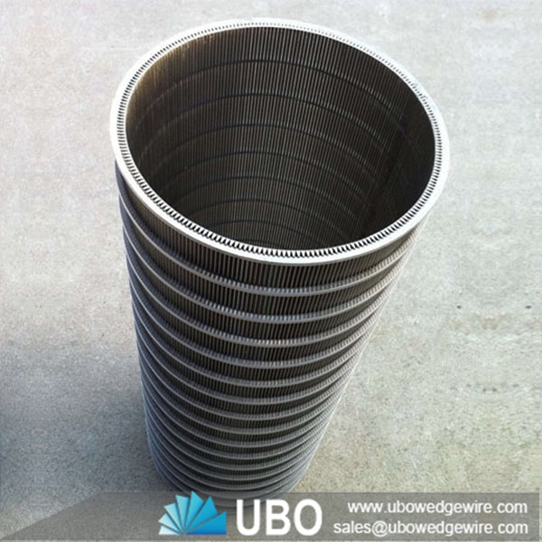Ss v shaped wire wedge screen tube for