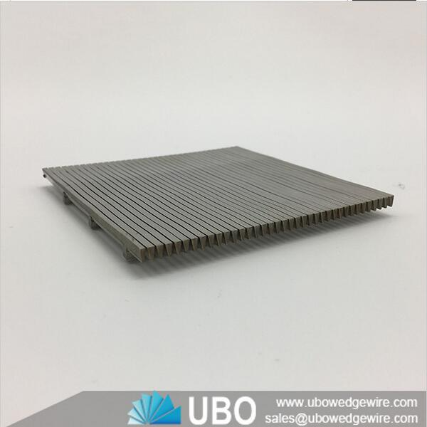 Stainless steel wedge slot v wire bar screen panels,v wire screen ...