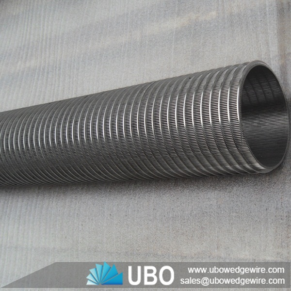 Looped or welded wedge wrapped wire screens cylinder,johnson ...