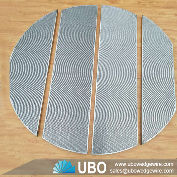Johnson stainless steel wedge vee wire lauter tun screen for beer ...