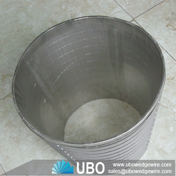 Good quality stainless steel welded wedge wire screen mesh