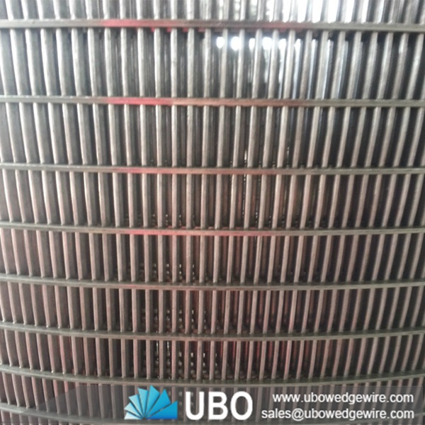 Stainless Steel Screens : Good quality stainless steel welded wedge wire screen mesh