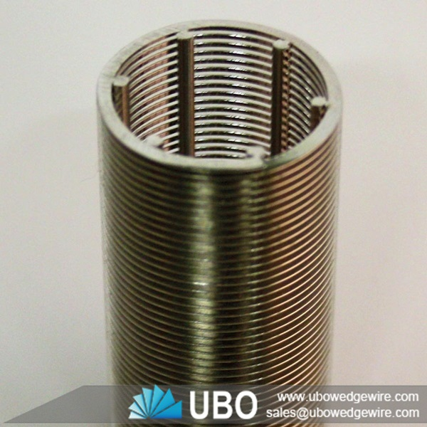 Stainless Steel Screens : Stainless steel wedge wire water well screen pipe
