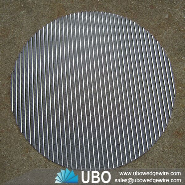 Metal Plate Wedge : Wedge wire circle screen plate stainless steel