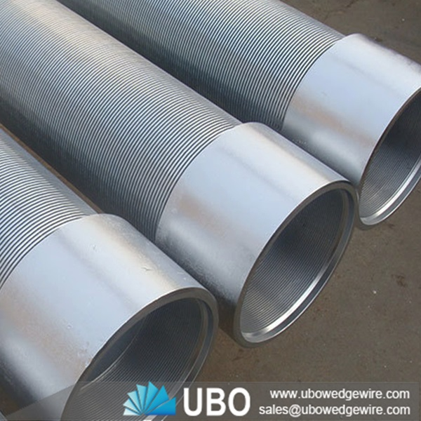 Stainless Steel Screens : Stainless steel wedge wire screen sand control pipe