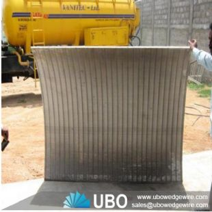 stainless steel coal curve screen panel