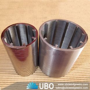 Low Carbon Steel water well screen pipes