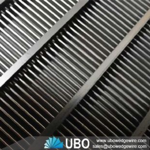 V-shaped steel wire welded stainless steel screens