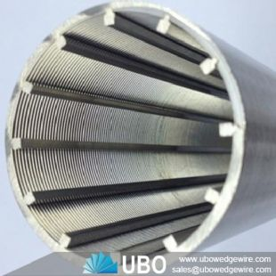 Stainless Steel AISI 304 Wire Wrap V Shaped Pipe Base Screen