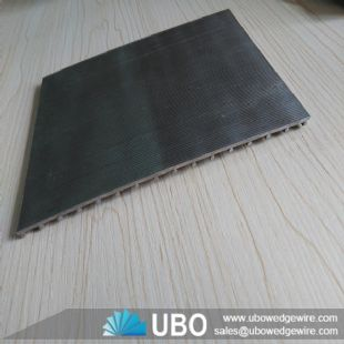 stainless steel wedge vee wire screen panel for filteration