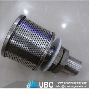 wedge wire screen johnson V wire water filter nozzle screen