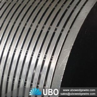wedge wire paper screen for pulp