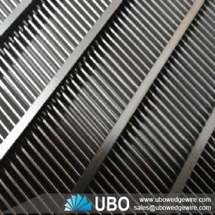 stainless steel vee wire sieve bend screen for coal