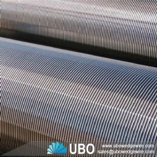v shaped wire welded stainless steel pipe
