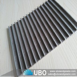stainless steel wedge wire flat screen panel supplier