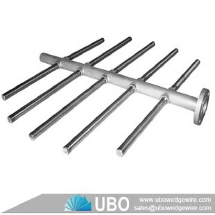 Stainless Steel Wedge Wire Header Lateral