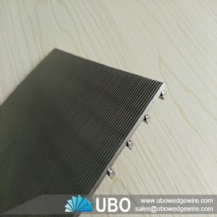 stainless steel Johnson screen plate for filtration
