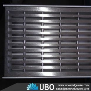 wedge wire screen grate