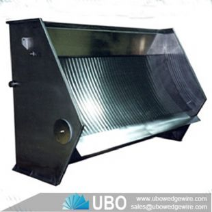 Wedge Wire Sieve Bend Screen Filter for Fish Farming