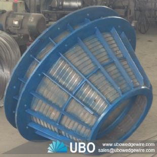 Stainless Steel Wedge Wire Screen Basket for Filtering and Dewatering