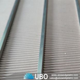 Stainless Steel Wedge Wire Square Sieve Screen