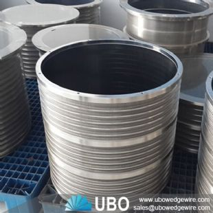 Stainless Steel Wedge Wire Screen Basket for Paper Mills
