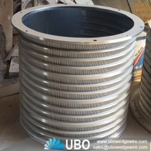Industrial Wedge Wire Screens Cylindrical