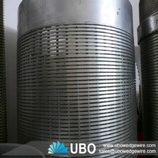Wedge Wire Profile Wire Wrapped Pipe Screen For Water Treatment