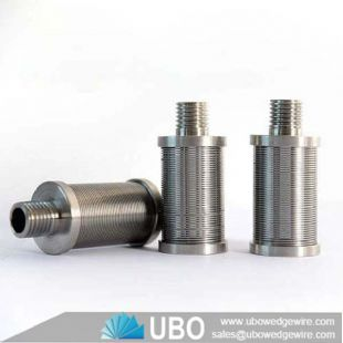 Stainless Steel Water Well Slot Screen nozzle