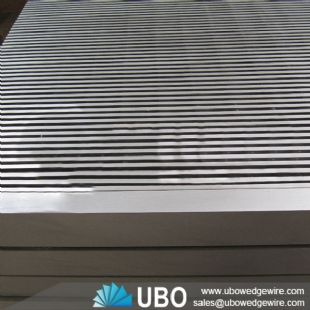 Stainless Steel V-shaped Screen Panel Filtration filter