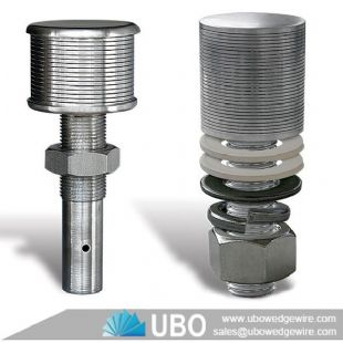 stainless steel wedge wire nozzle filter