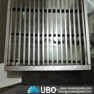 stainless steel wedge wire screen grating for drainages