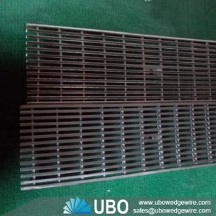 stainless steel wire mesh of wedge wire screen grate