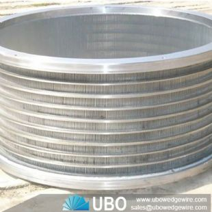 Satinless Steel Inclined Rotary Drum Screen