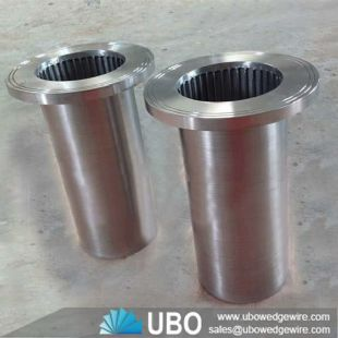 wedge wire water well screen strainer resin trap