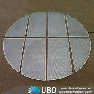 stainless steel wedge V wire screen support grid
