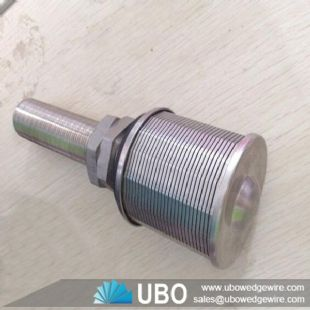 stainless steel wedge v wire screen nozzle filter