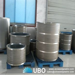 stainless steel wedge wire screen & basket