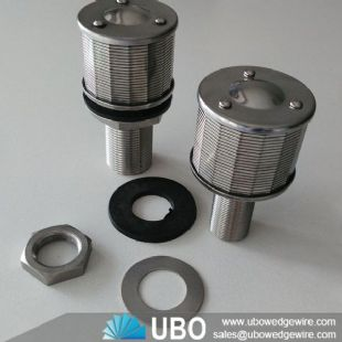lateral nozzle screen  for tap water resin