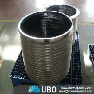 Wedge wire sieve mesh screen basket