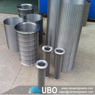 SS tubular slot screens for water treatment