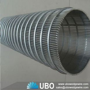 SS cylindrical wedge wire screens