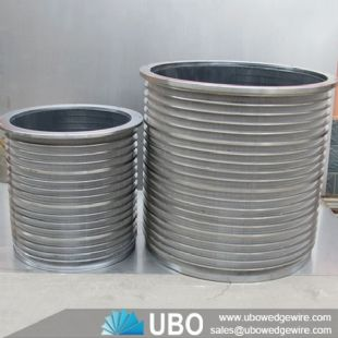 wedge wire slot pressure screen basket