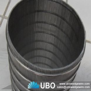 Stainless Steel Cylindrical Wedge Wire Screens
