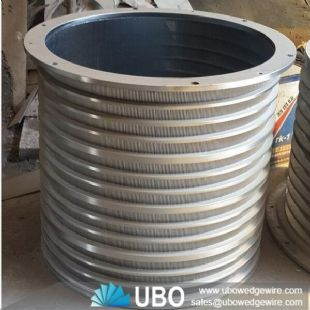 stainless steel wedge wire sink strainer baskets