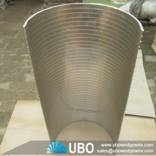 wedge wire arc screen for water treatment