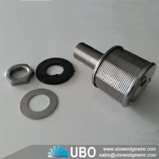 Water filter nozzle screen