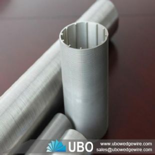 stainless steel looped wedge wire screen tube